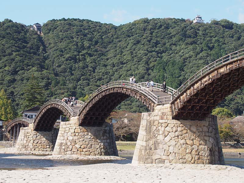 岩國城和錦帶橋