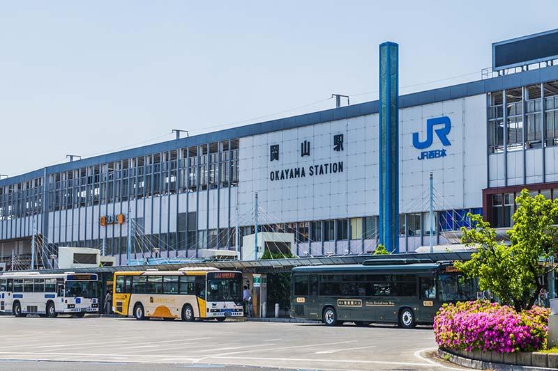 岡山站巴士總站