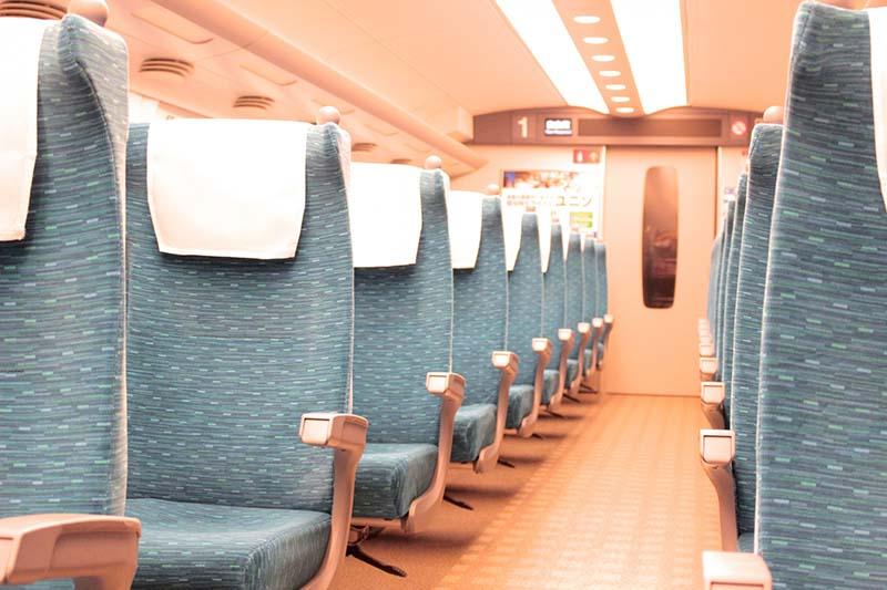 新幹線的座位