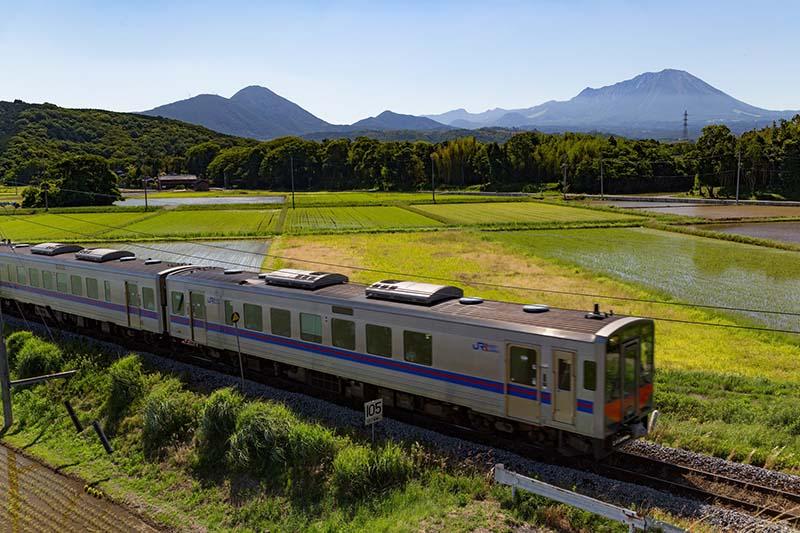 大山和鐵路