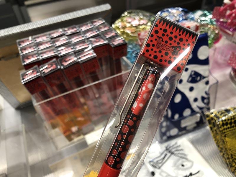 六本木森美術館Museum Shop草間彌生限定原子筆