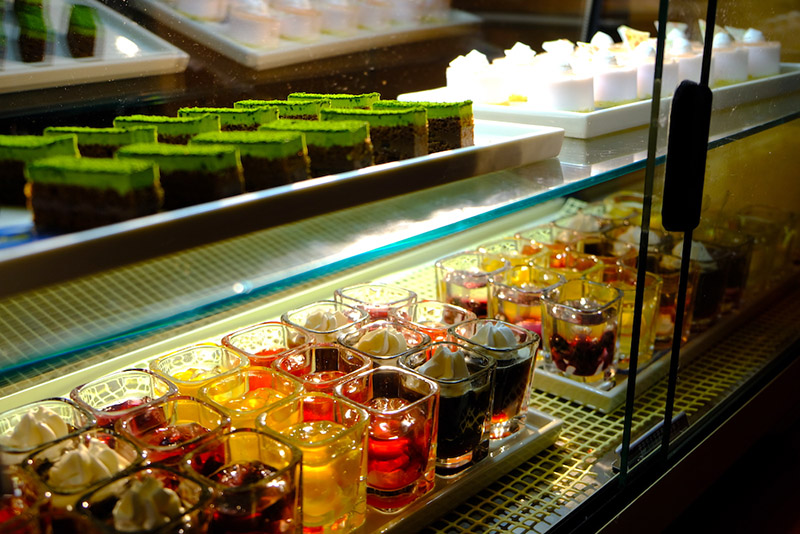 甜品蛋糕區