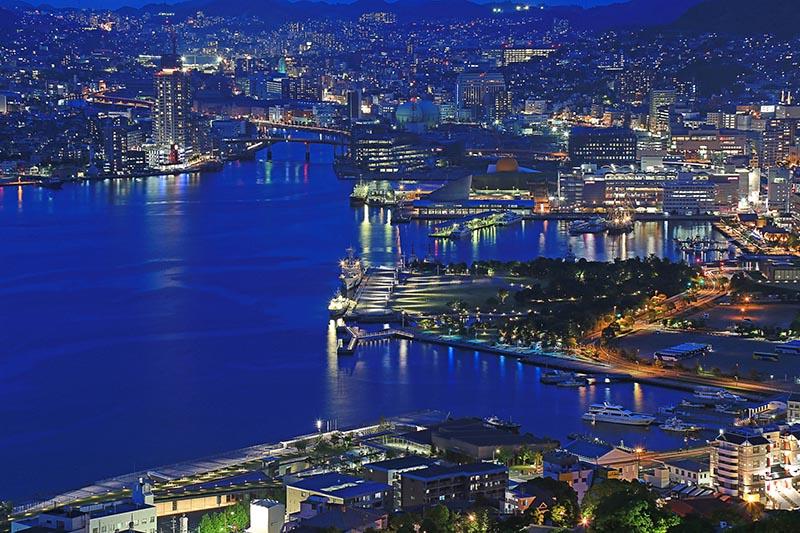從長崎稻佐山眺望的夜景