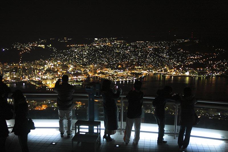 從長崎縣稻佐山看夜景