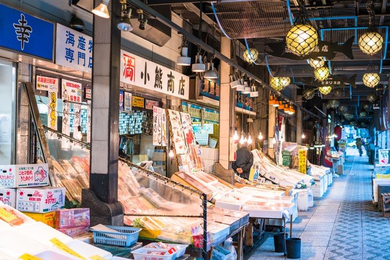 札幌・二條市場