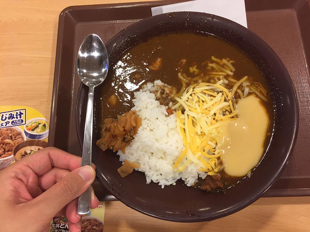 日本Sukiya咖哩