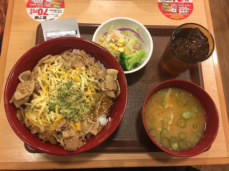 日本Sukiya豚丼
