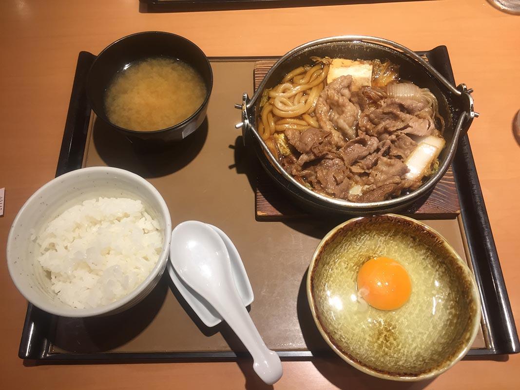 YAYOI彌生軒壽喜燒定食