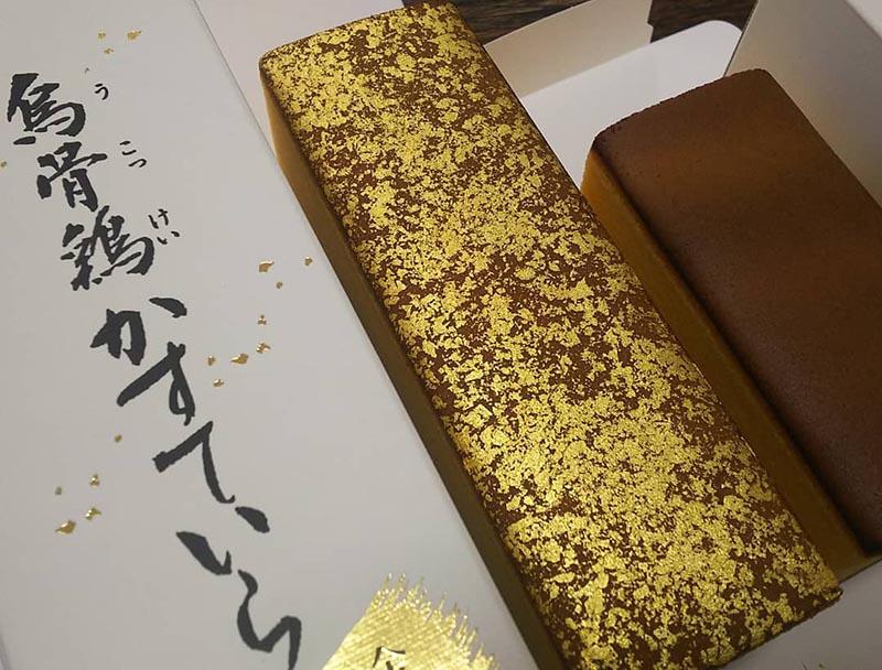 烏骨雞蜂蜜蛋糕