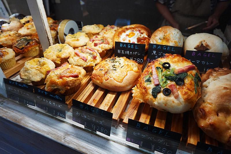 藏前Daily's muffin的鹹麵包和馬芬蛋糕