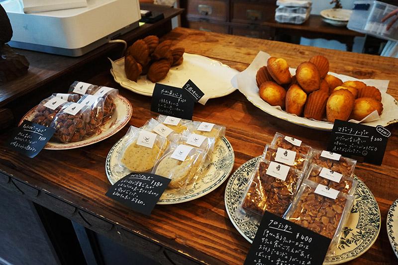 藏前菓子屋 シノノメ的小蛋糕和手作餅乾