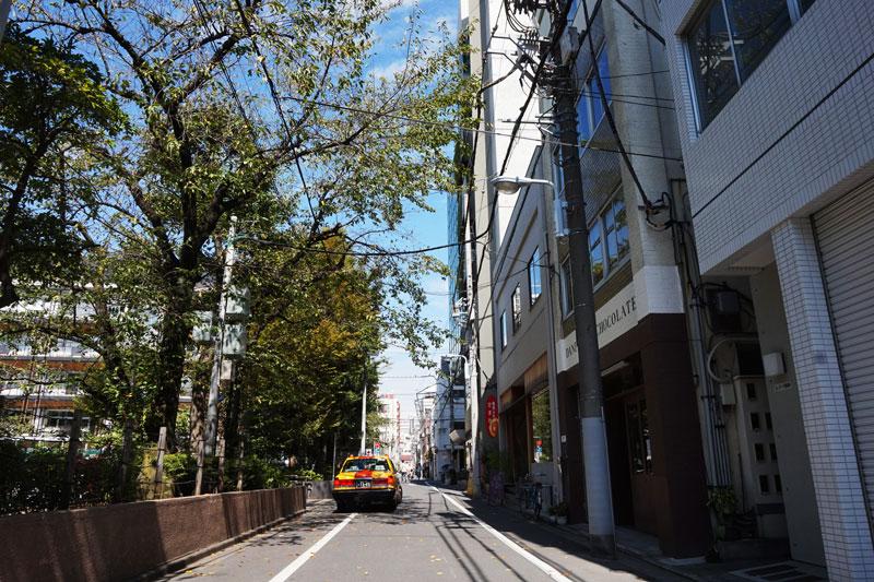 藏前的午後街景