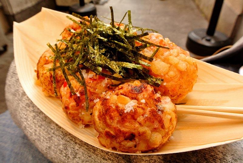 十八番鹽味章魚燒
