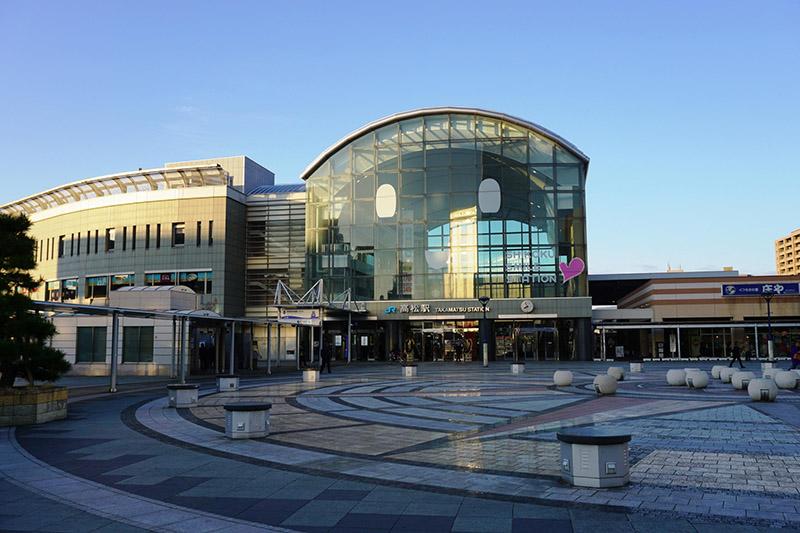 JR高松站