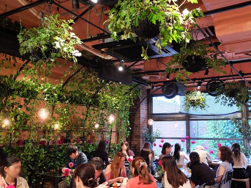 Aoyama Flower Market TEA HOUSE南青山本店下午茶店