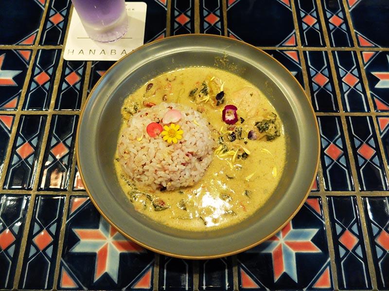 池袋HANABAR的黃咖哩