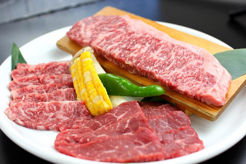 和牛燒肉拼盤