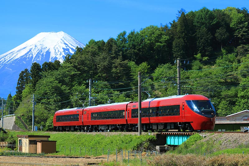 富士山景觀特急