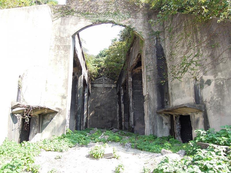大久野島的廢墟