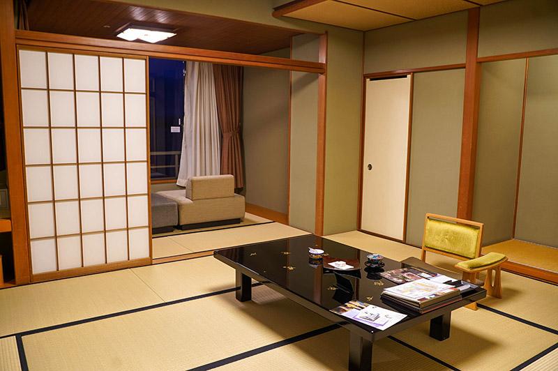 加賀屋日式房型「能登客殿」