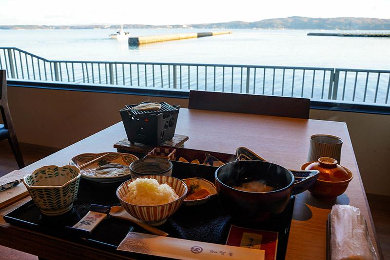 加賀屋溫泉旅館——和式早餐