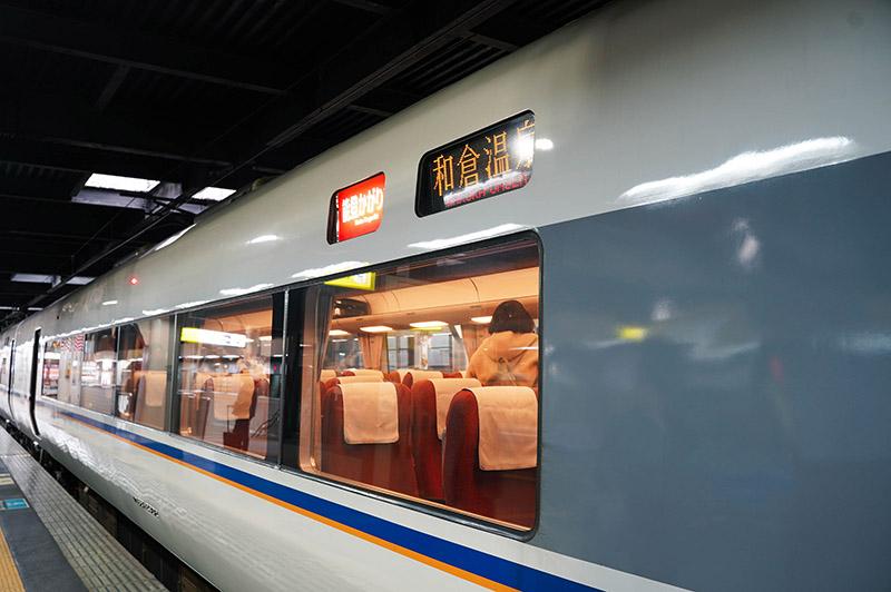 特急列車能登篝火號列車