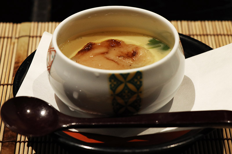 萬翠樓的茶碗蒸