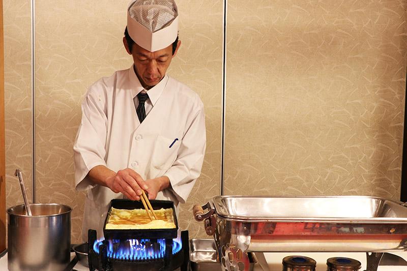三朝館早餐玉子燒