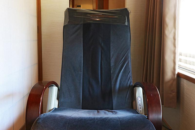 三朝館房內按摩椅