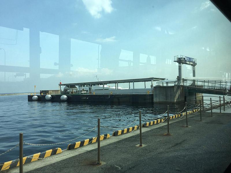 高速船BAY SHUTTLE的搭乘處