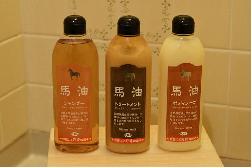 馬油洗髮精、潤髮乳及沐浴乳