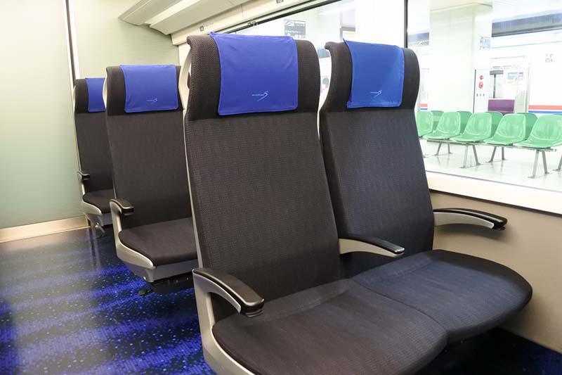特急列車的座位