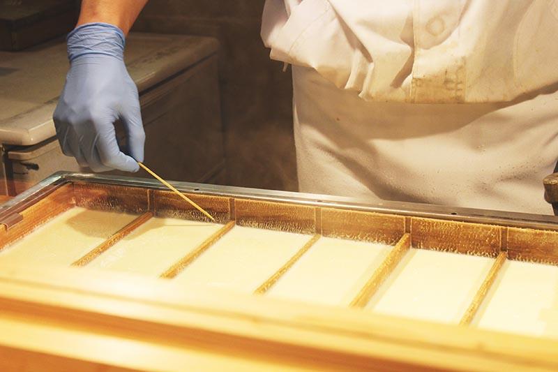 山翠樓的名產豆皮