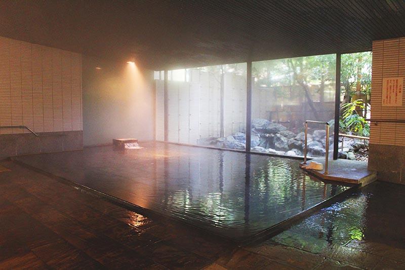 山翠樓的大浴場