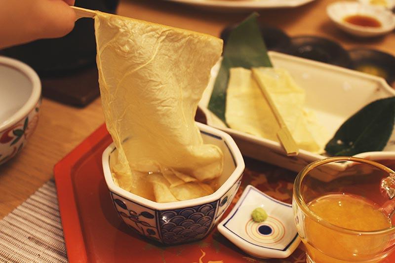 山翠樓的豆皮料理