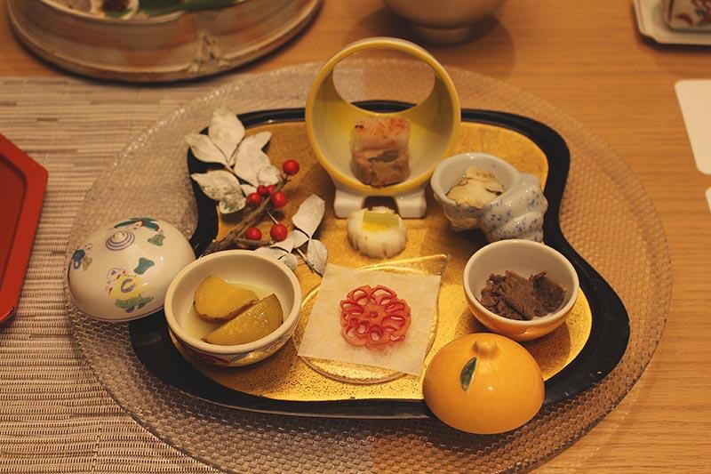 山翠樓的晚餐前菜