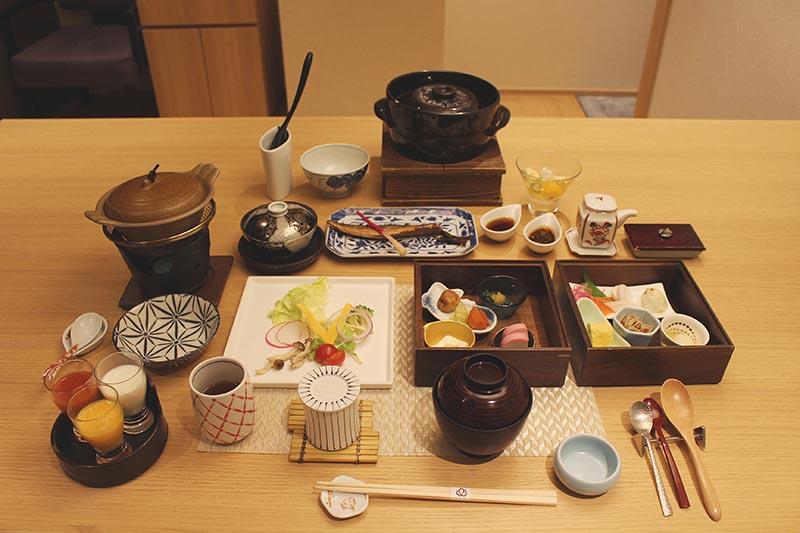 山翠樓的日式早餐