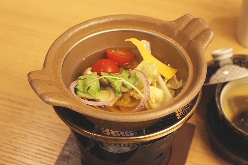 山翠樓的蔬菜鍋