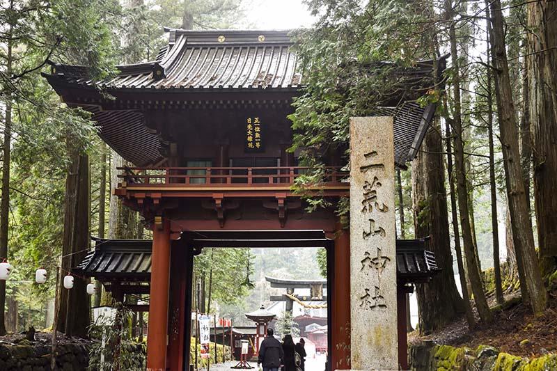 二荒山神社的入口