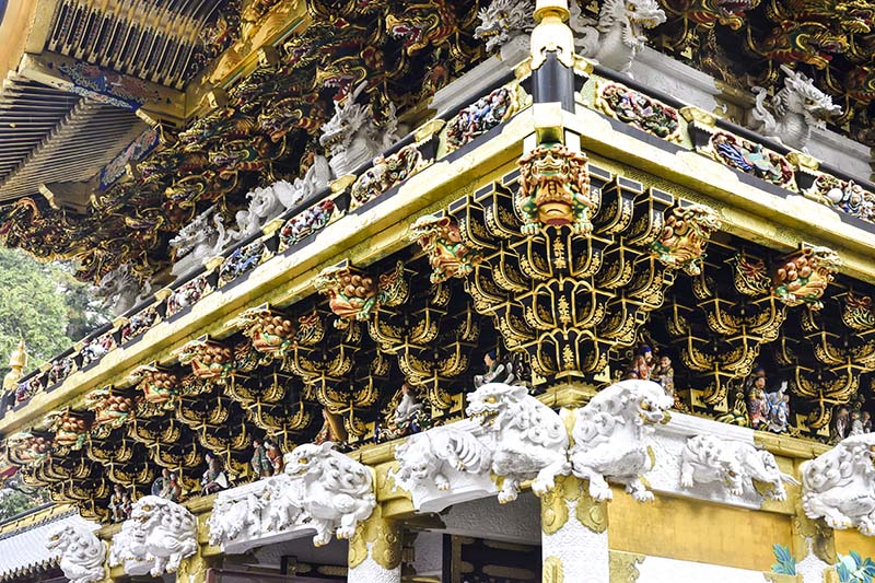 日光東照宮的社殿