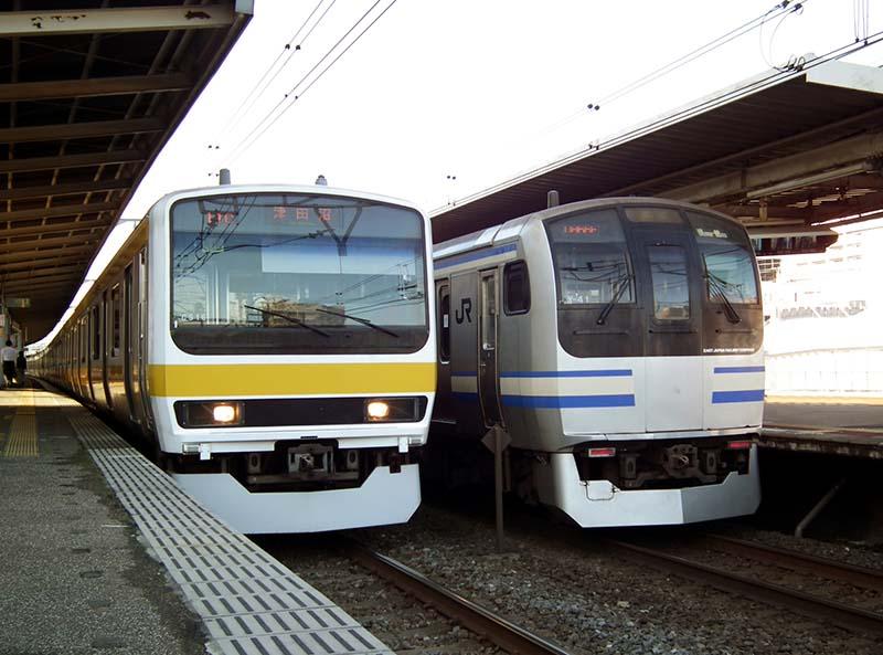 橫須賀線與總武快速線