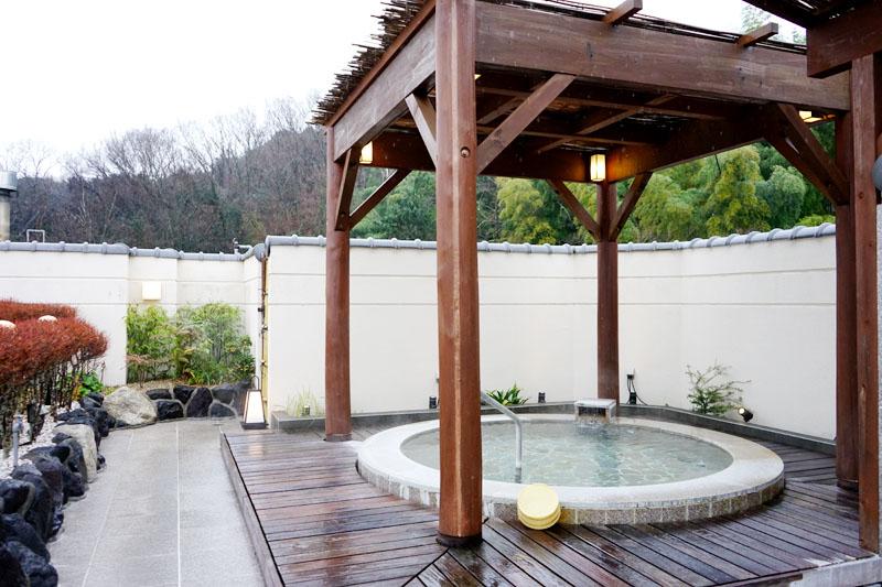 新八景園 露天浴池