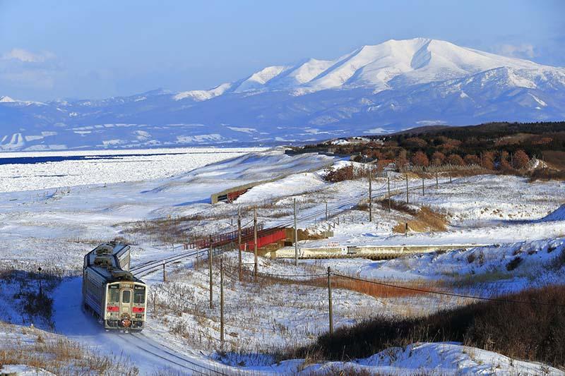釧網本線與流冰
