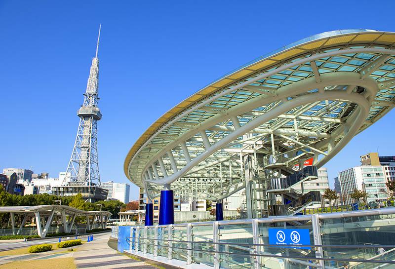 名古屋的都市風景