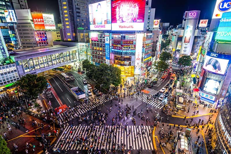 澀谷交叉路口