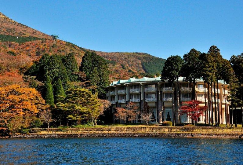 箱根蘆之湖皇家王子大飯店外觀