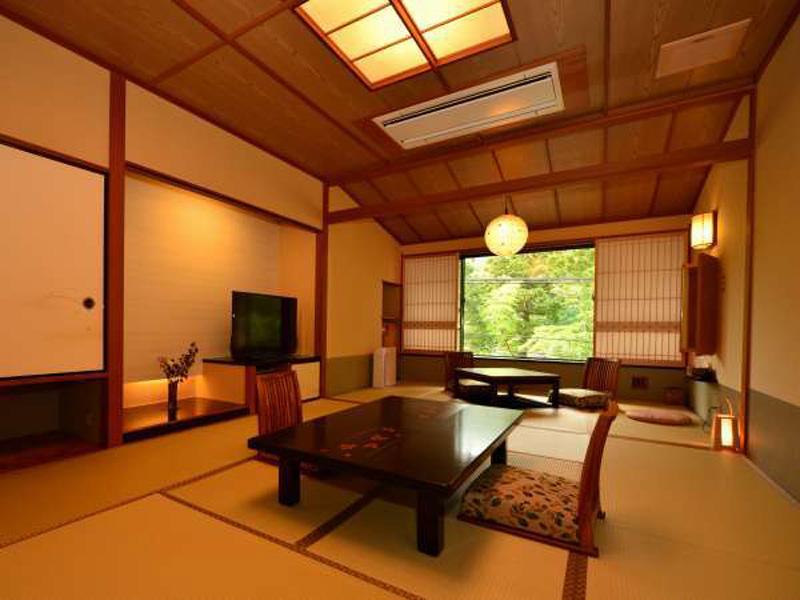 花紋的傳統日式客房