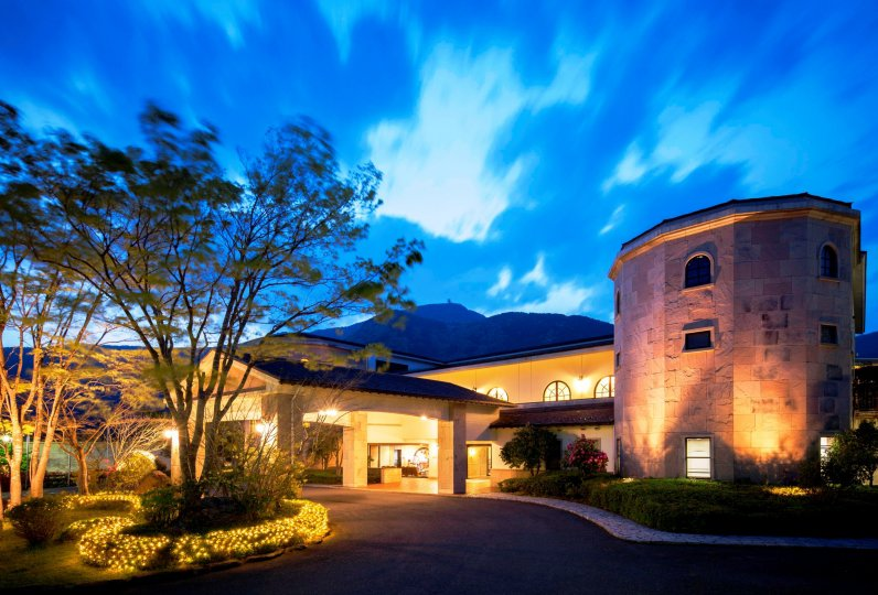 仙石原王子大飯店的夜景