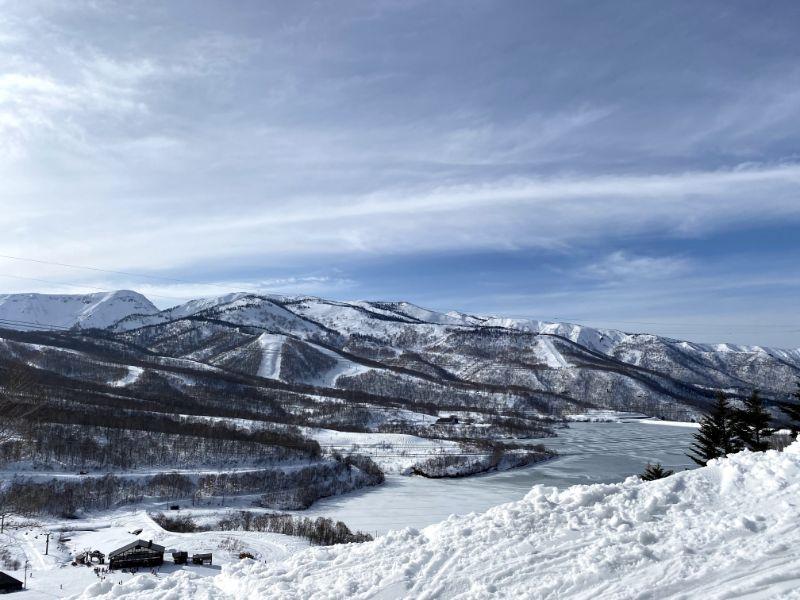 田代湖景色