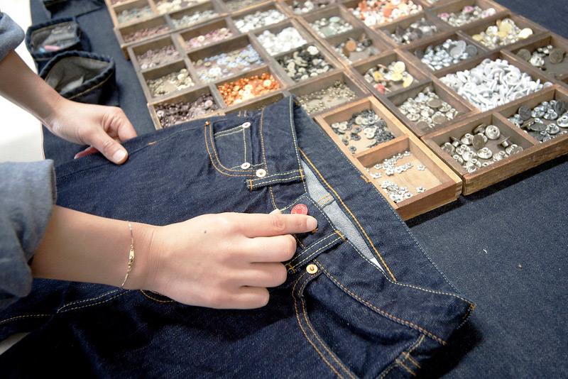 體驗製作牛仔褲